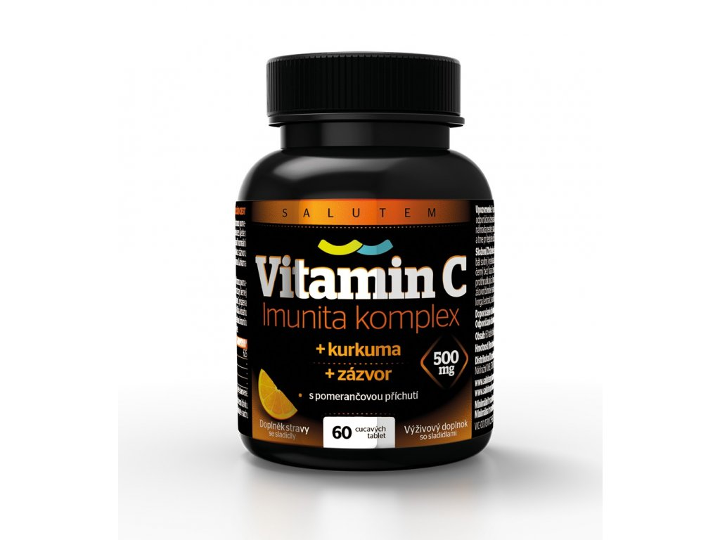 VITAMIN C Imunita Komplex 60 tbl CZE SLO BLACK NOBACKGROUND orez