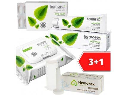 Hemorex 3+1 zdarma