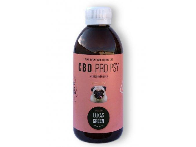 Lukas Green CBD pro psy 250 ml