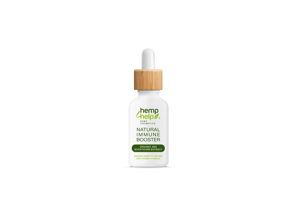 Hemp For Help: nejlepší posílení imunity s vitaminem C a D