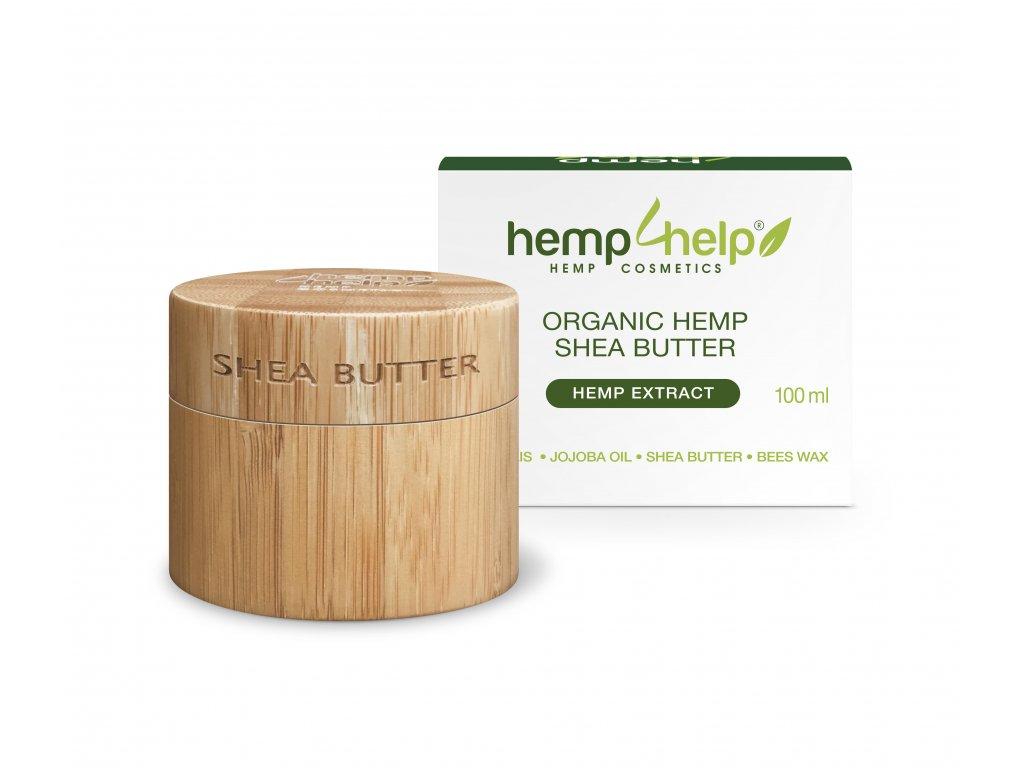 Bio bambucké máslo s konopným extraktem