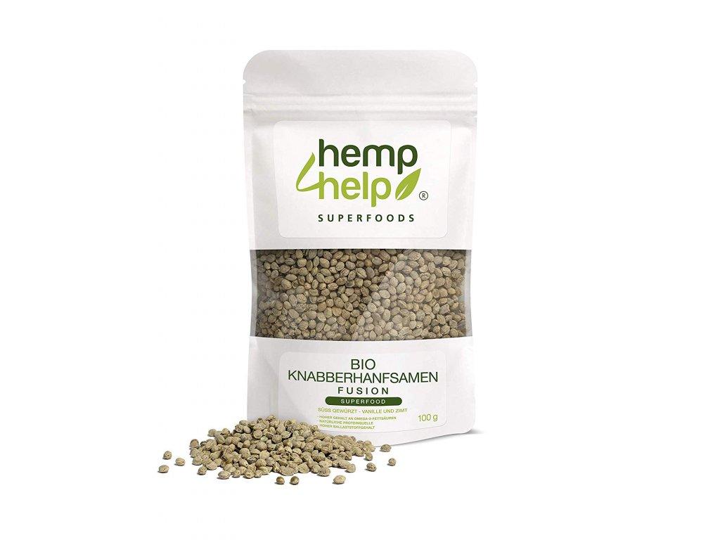 Hemp For Help: Bio konopné semínko ve skořici a vanilce