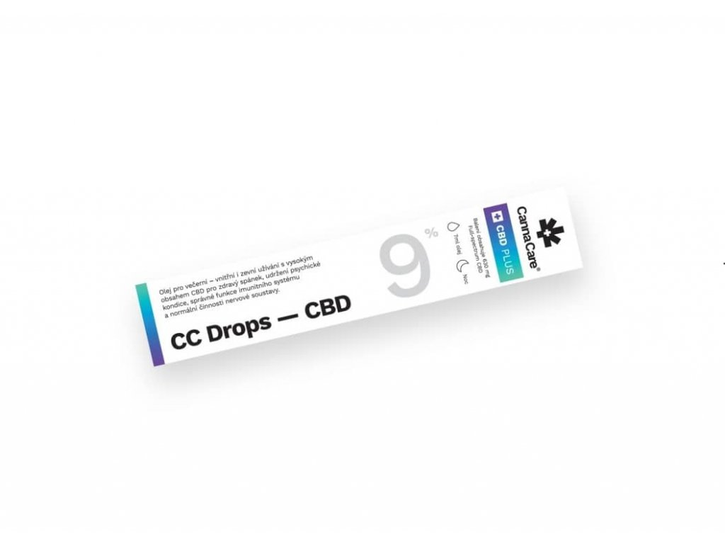 9% CBD olej (7 ml) CannaCare