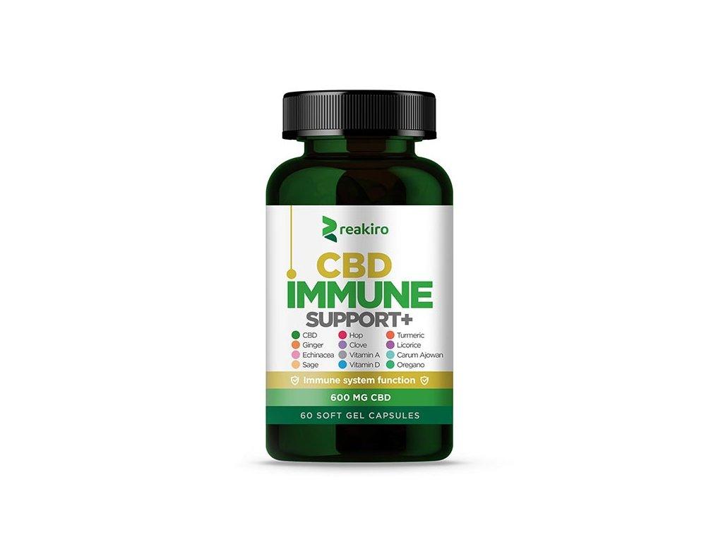 cbd capsules immune support 600 mg 60 pcs