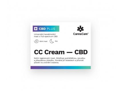 CBD konopná mast (60 ml) CannaCare