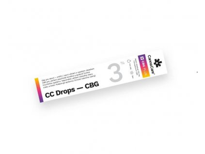 3% CBG olej (7 ml) CannaCare