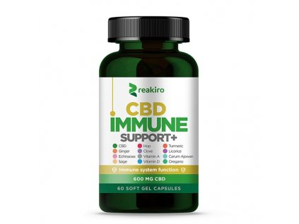 cbd capsules immune support 600 mg 60 pcs