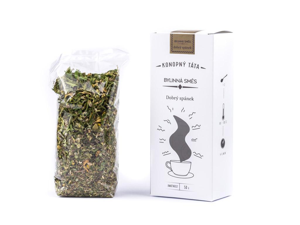 Levně Konopný Táta Konopný čaj Dobrý spánek 50 g