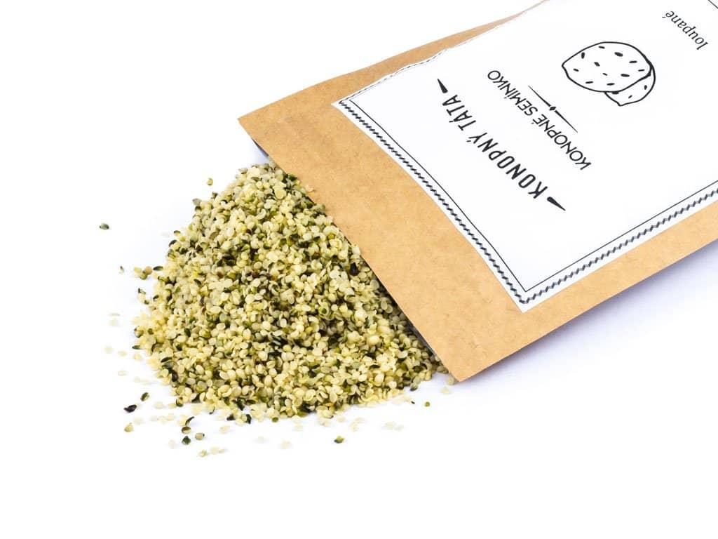 Konopný Táta Konopné semínko loupané Hmotnost: 150 g