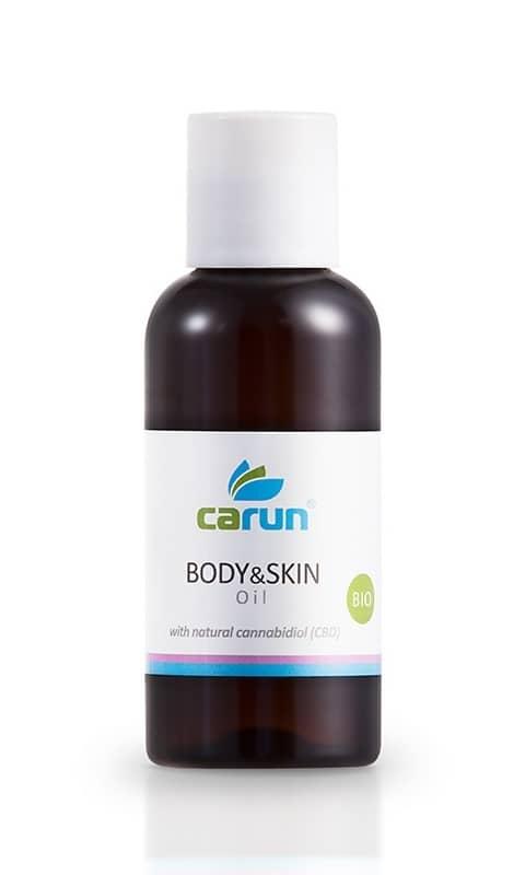 Levně Carun tělový a pleťový konopný olej 100 ml