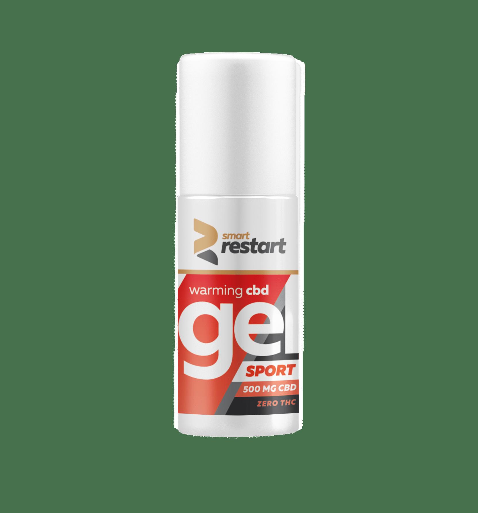 Levně Reakiro Smart uvolňující hřejivý gel na svaly 500mg CBD 100 ml