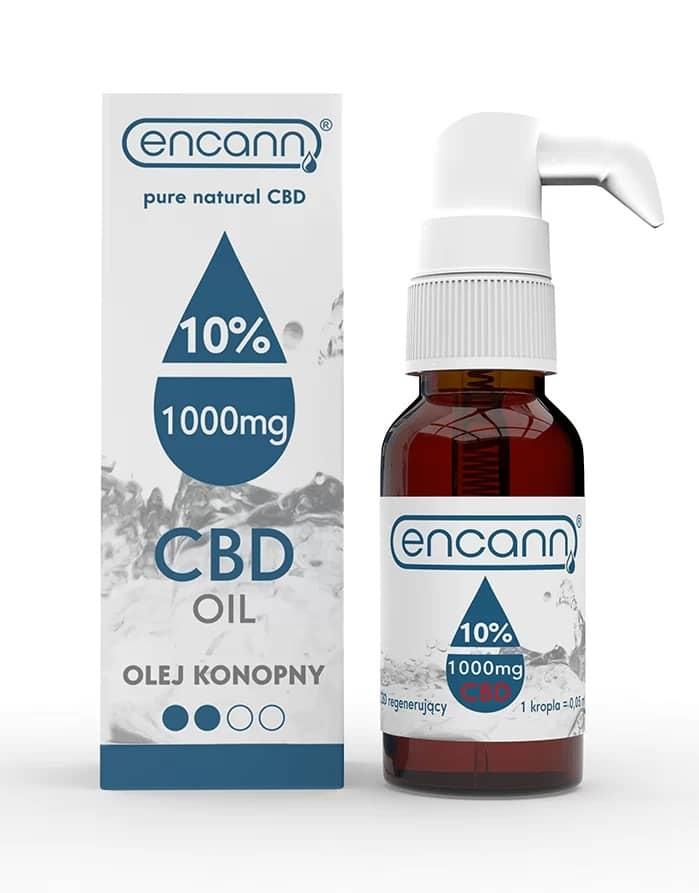 Levně Encann Blue CBD olej 10%, 10 ml