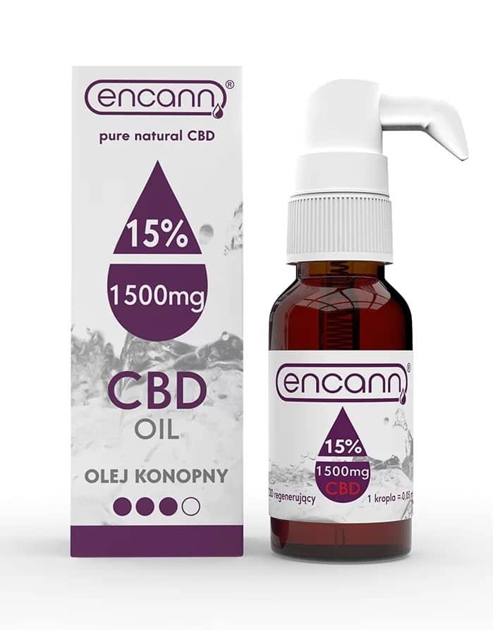 Levně Encann Purple CBD olej 15%, 10 ml
