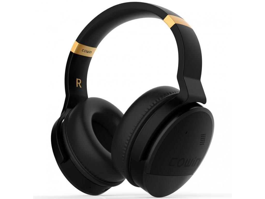 Sluchátka Cowin E8 černo - zlatá