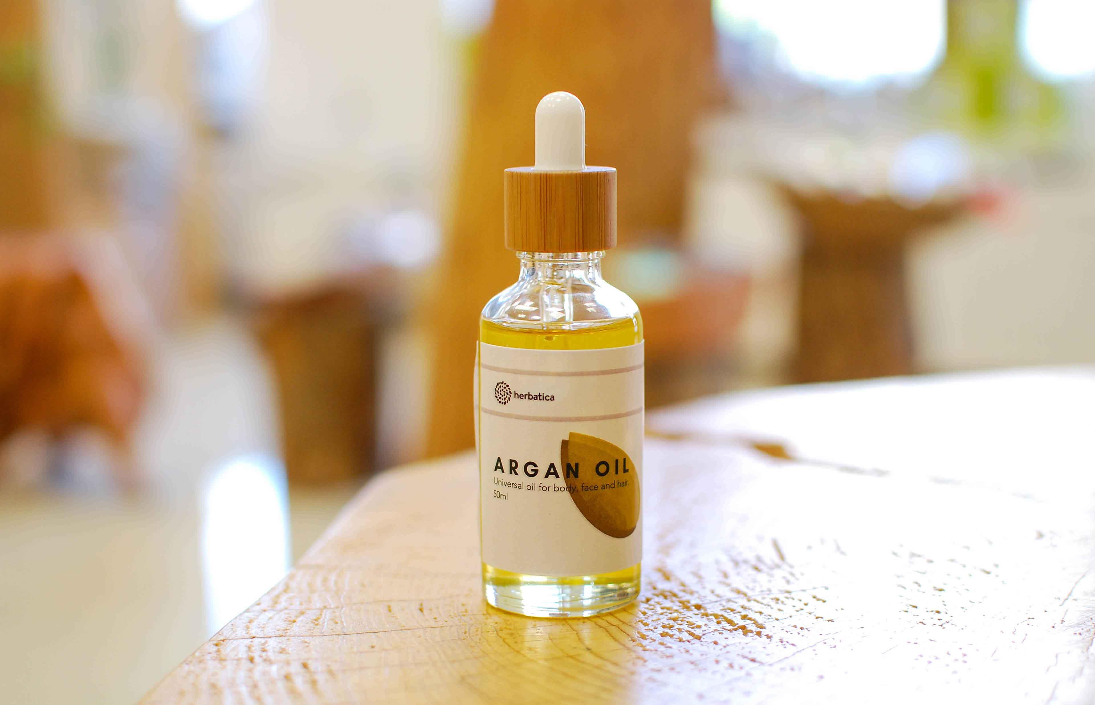 Využití arganového oleje