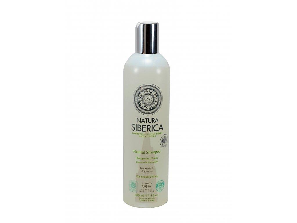 Natura Siberica - Neutrální šampon na citlivou pokožku – 400 ml