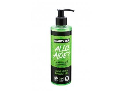 ALLO, ALOE? hydratační sprchový gel Beauty Jar - 250 ml