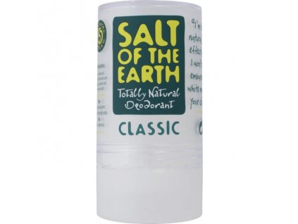 Salt of the Earth - Deodorant z kamence, tuhý - 90 g