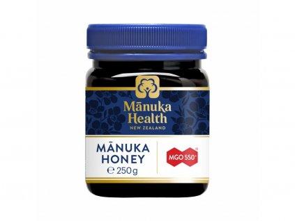 Manuka Health med MGO 550+ 250 g  + Tělový krém, výživný