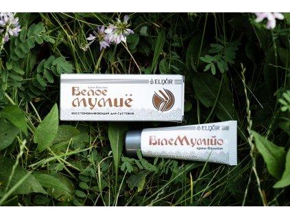 Bílé Mumio - krém-balzám na regeneraci kloubů - Elixír - 75 ml