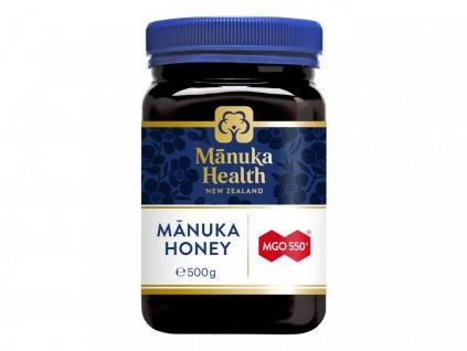 Manuka Health med MGO 550+ 500g  + Náhodně vybraný dárek