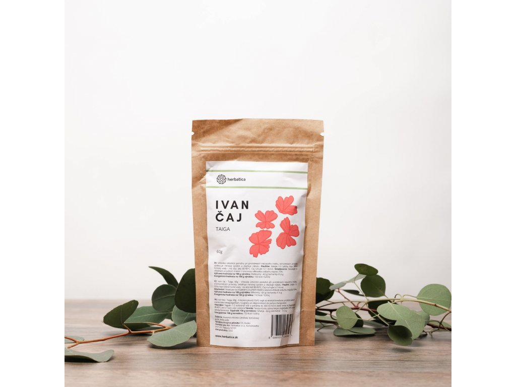 "Ivan Tea ""Taiga"" - Szálas tea - Herbatica - 60g"