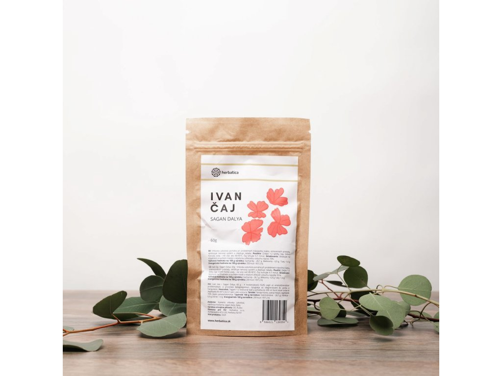 Ivan tea - A csodadoktor titka – szálas tea - Herbatica-  60g