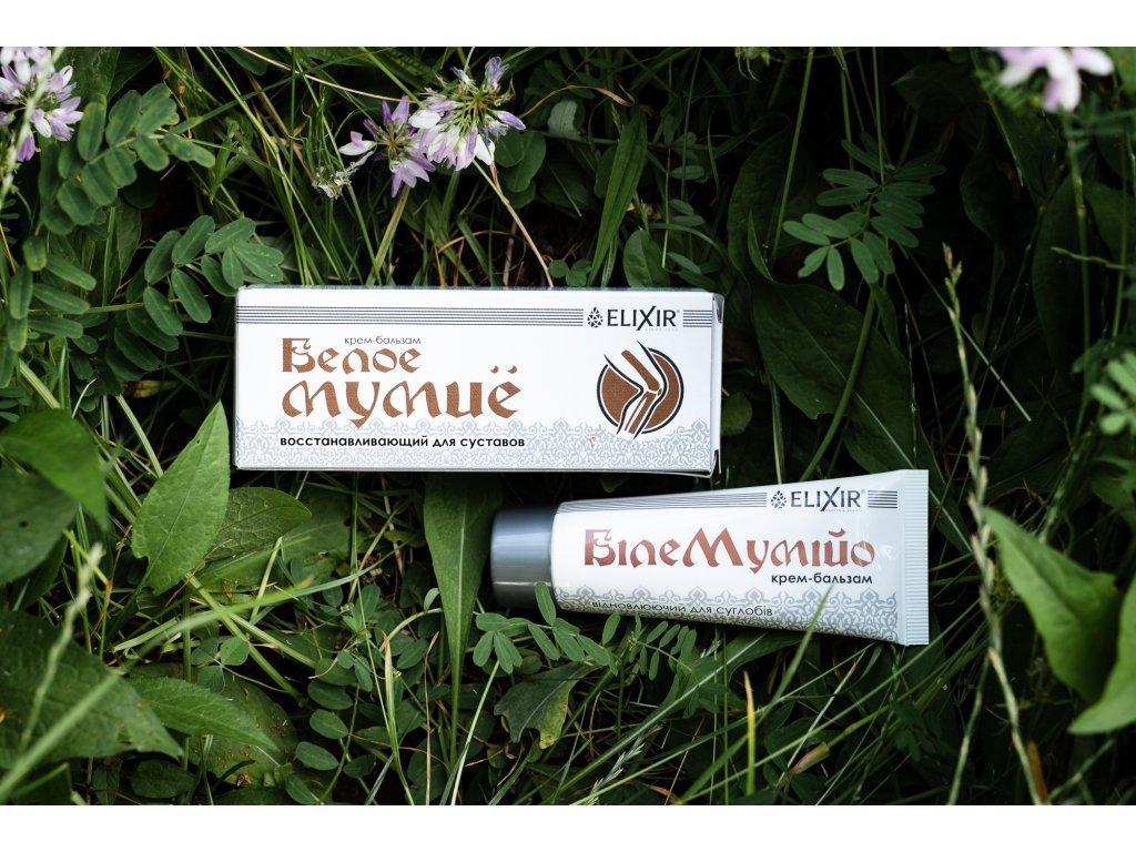 Eliksier Fehér Mumio - krém-balzsam az izületek regenerálódásához - 75 ml