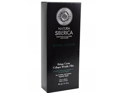 """Natura Siberica - """"Absolut"""" kollagén ráncfeltöltés kaviárral Belugából - 40 ml"""