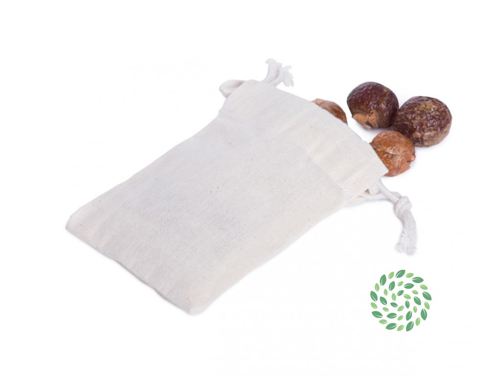 Plátené vrecúško na mydlové orechy