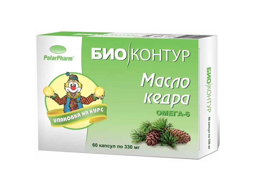 Bio Kruh Cédrový olej v kapsuliach- 60 kapsúl (330 mg)