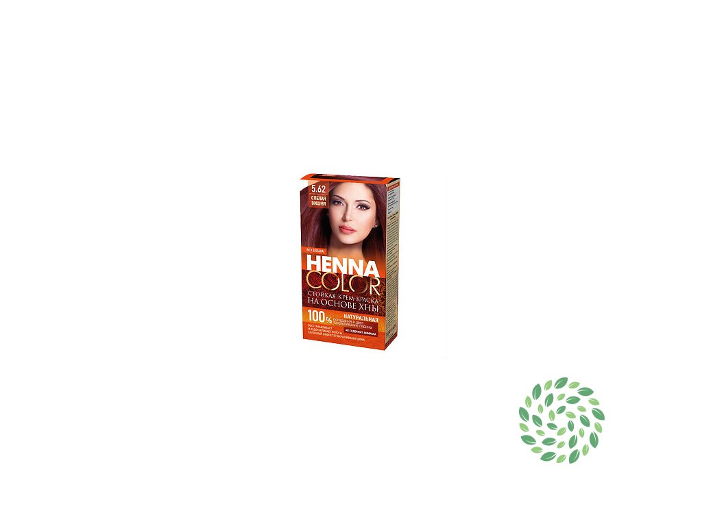Fitokosmetik Krémová farba na vlasy Henna color 5.62 – ZRELÁ VIŠŇA 115ml