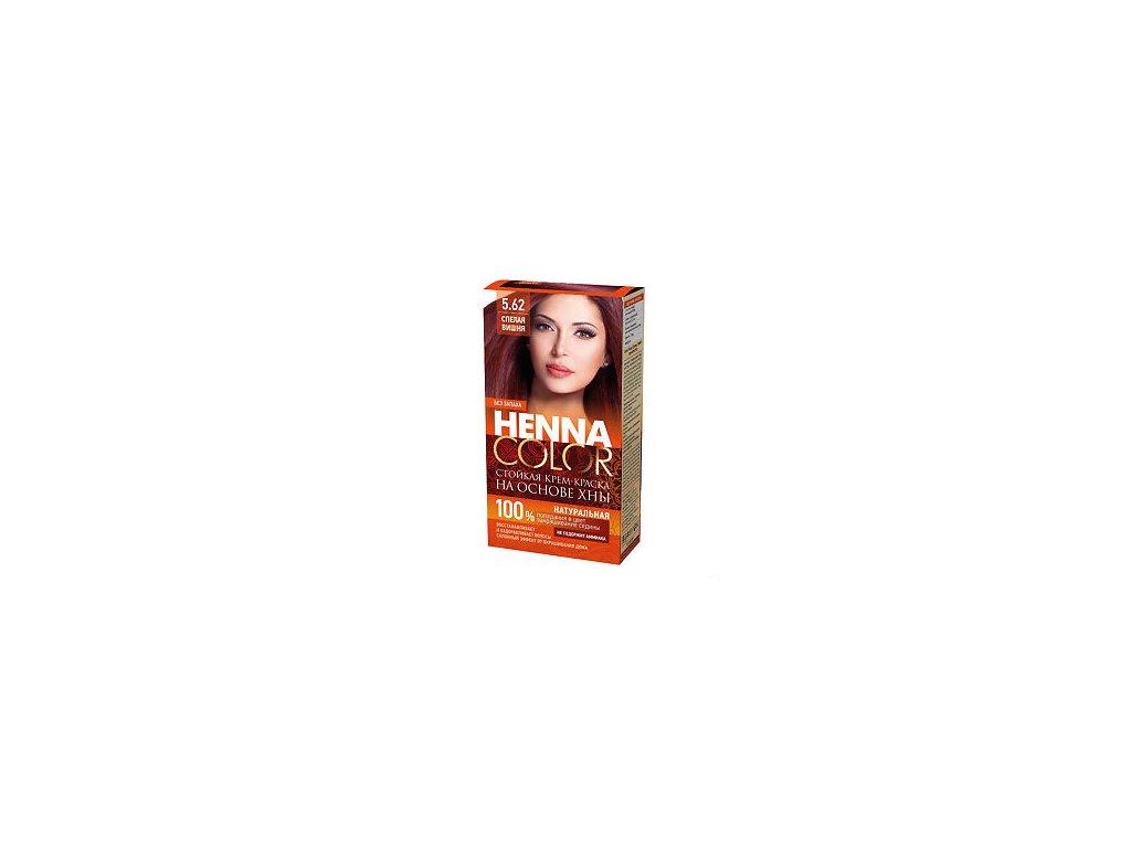 Krémová farba na vlasy Henna color 5.62 – ZRELÁ VIŠŇA - Fitokosmetik - 115ml