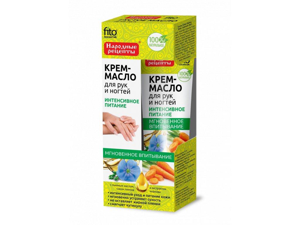 fitokosmetik maitinamasis ranku ir nagu kremas aliejus