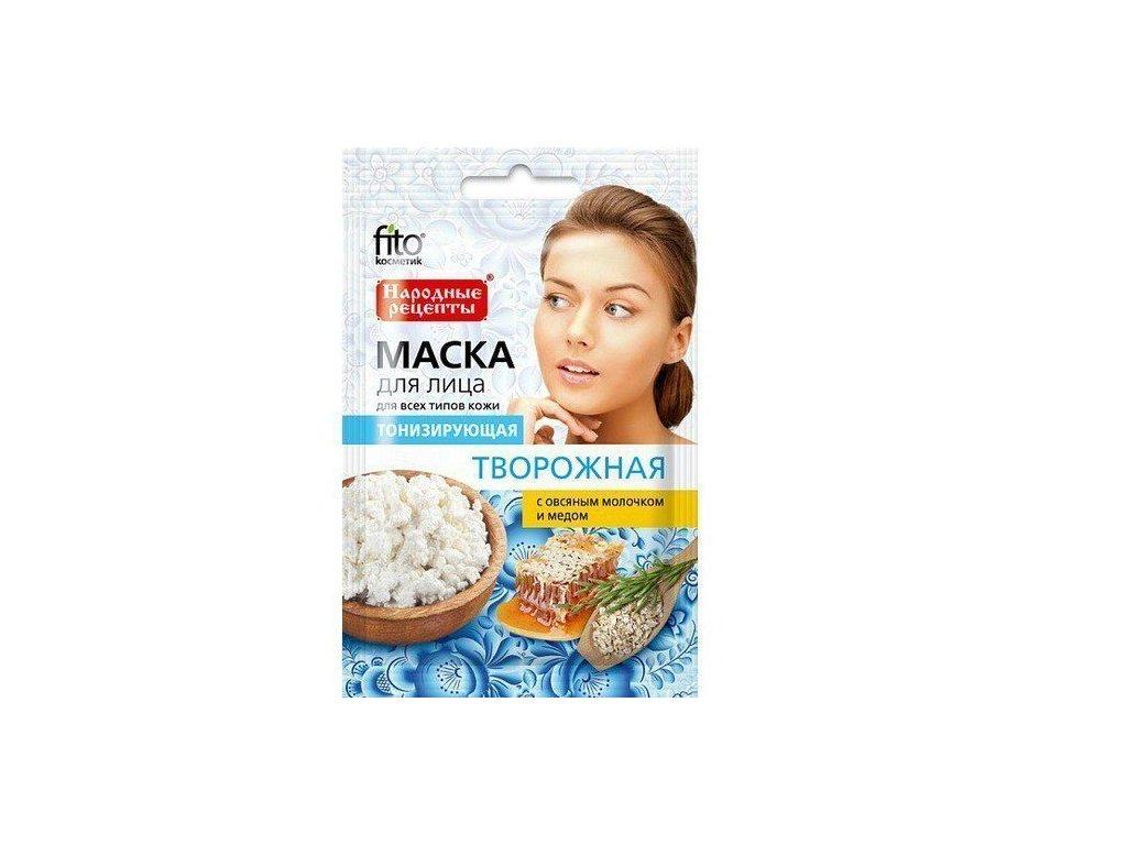 fitocosmetic naturalna maseczka do twarzy tonizujca 4607051799479