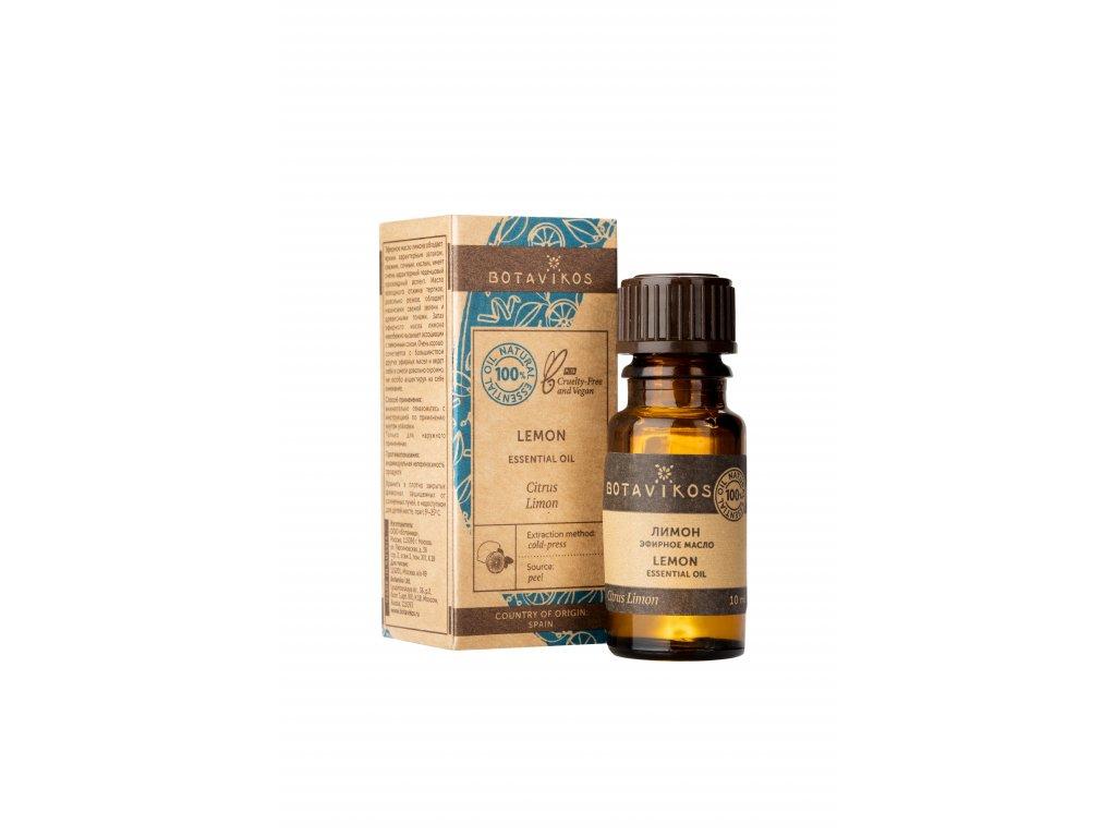 100% prírodný esenciálny olej citrónový - Botavikos - 10 ml