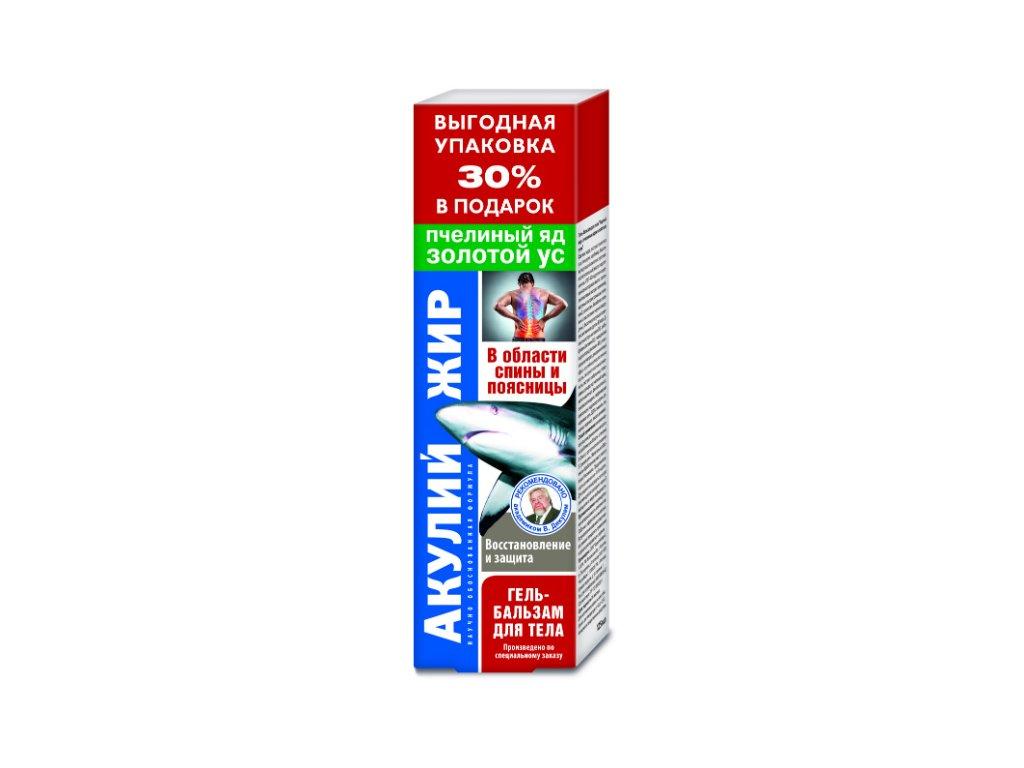 Balzam so žraločím tukom, včelím jedom a kalísiou voňavou - Korolev Farm - 125 ml