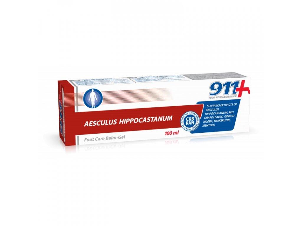 14774 twinstec 911 gel na nohy s jirovcem madalskym 100 ml