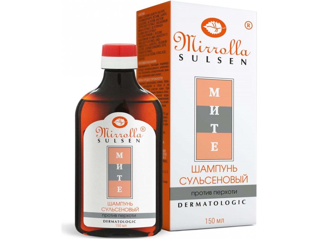 """Šampón na vlasy """"Sulsen Mite"""" - Mirrolla - 150 ml"""
