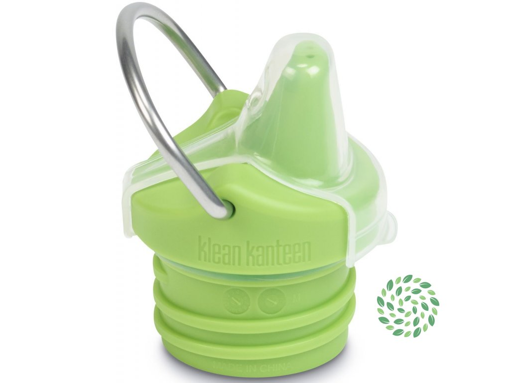 Náhradný uzáver na detskú fľašu Klean Kanteen Kid Sippy Cap New - green