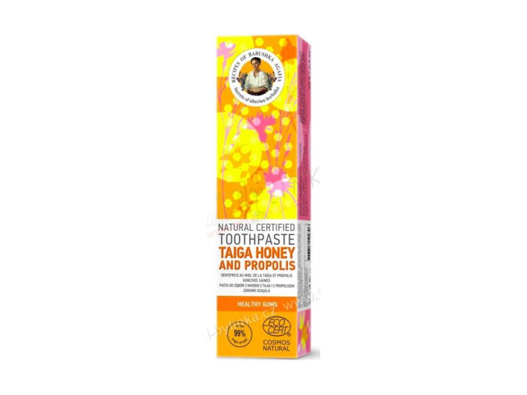 prirodni zubni pasta med z tajgy a propolis agata 85g 204019 1