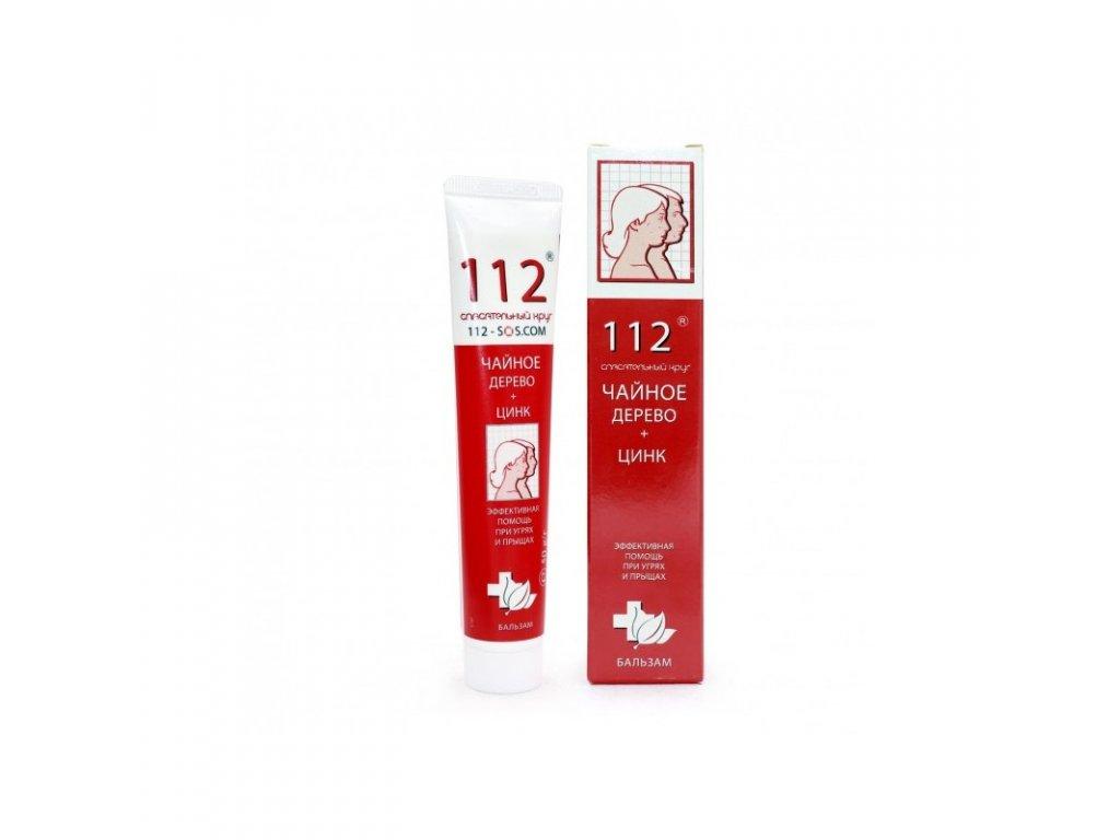ratownik 112 olejek z drzewa herbacianego i cynk