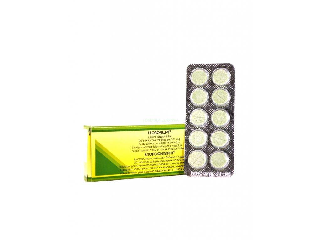chlorofillipt 800 mg 20 tab
