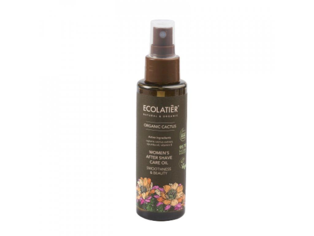ecolatier organic aliejus po skutimosi moterims kaktusas 110 ml