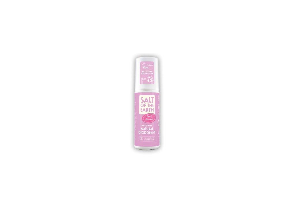 Prírodný kryštálový deodorant v spreji - kvet pivónie - Salt of the Earth - 100 ml