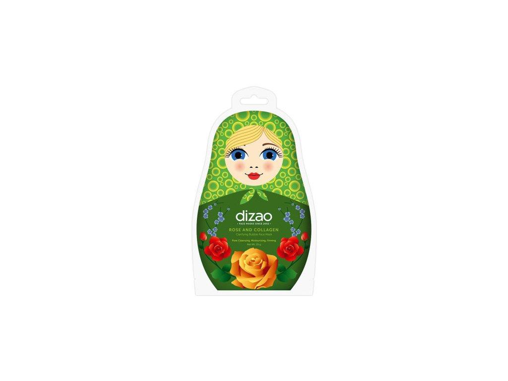 mascarilla facial rose and collagen clarifying bubble 25 gr 1