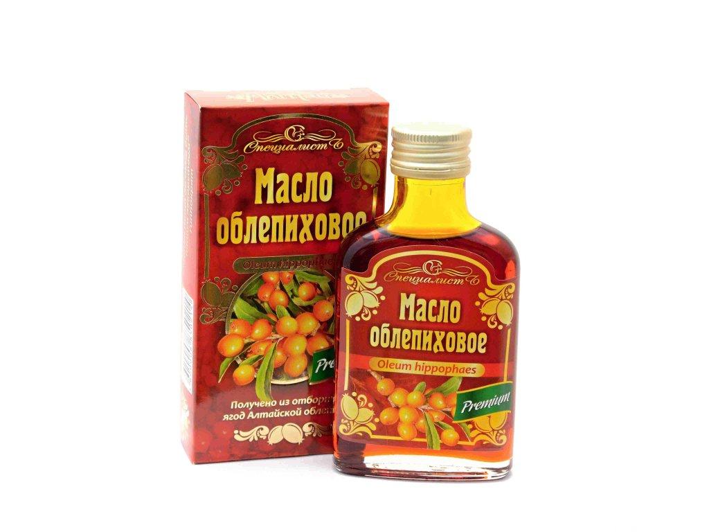 Specialist - Rakytníkový olej, za studena lisovaný, panenský