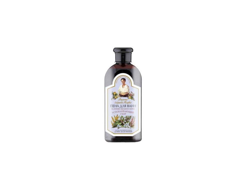 Relaxačná pena do kúpeľa mydlica a šalvia - Babička Agafa - 500 ml