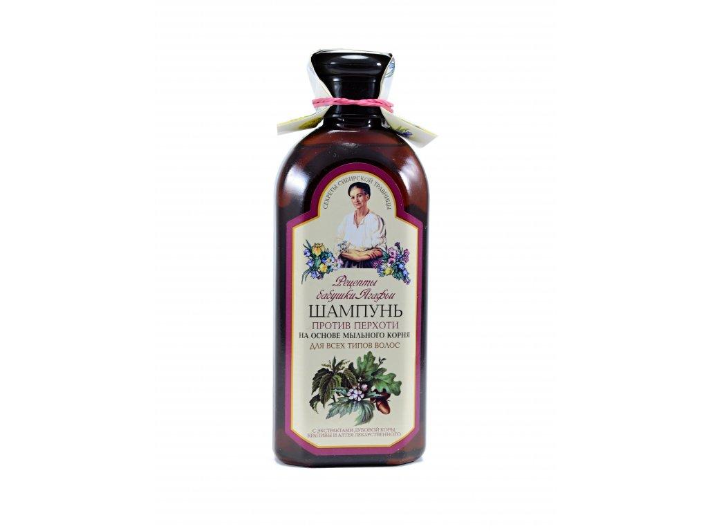 Šampón proti lupinám, pre všetky typy vlasov - Babička Agafia - 350 ml