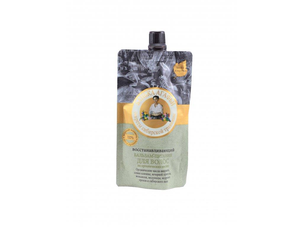 Vyživujúca vlasová maska s amarantovým olejom- Babička Agafia - 100ml
